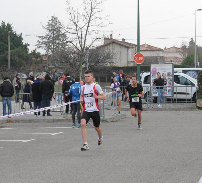 27 novembre 2016 10 Kms de Tournon  (40)red