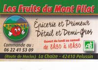 Logo les fruits du mont pilat